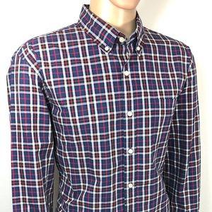 J. CREW Men's Shirt SZ XL Tailored Fit LONG Sleeve
